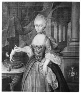 Portret van Anna Elisabeth Chastelein (1741-1773), echtgenote van Juliaan van Groenewegen