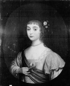 Portret van Henriette Marie van de Palts (1626-1651)