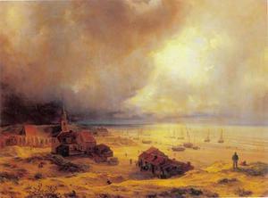 De kust van Scheveningen