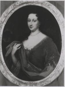 Portret van Balthasarina Kien (1666-1746)
