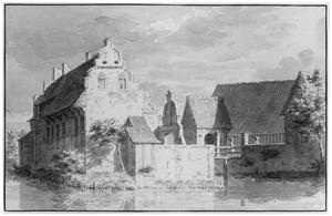 Linker- en voorzijde van de havezathe Waliën bij Winterswijk