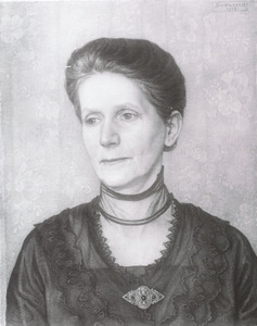 Portret van Cornelia Johanna Kuyper van Harpen (1864-1927)