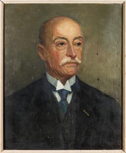 Portret van Geertruidis Cornelis van den Wall Bake (1879-1955)