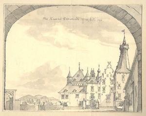Kasteel Doorwerth, voorzijde
