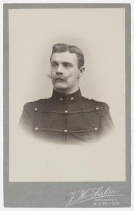 Portret van een man, mogelijk uit familie Wildeman