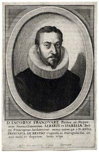 Portret van Jacques Franckaert (....-1651)