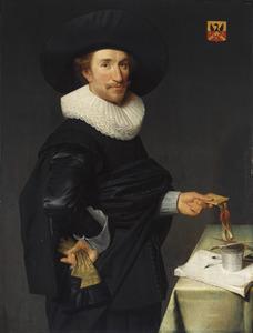 Portret van Willem de Langue (1599-1656)
