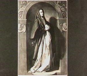 De H. Maagd in aanbidding