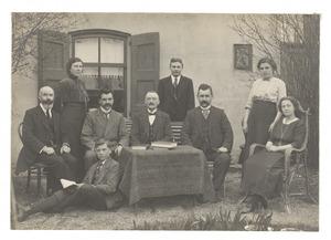 Personeel der School v. G.L.O. 3e kl. nr. 40 (Oud-Charlois)
