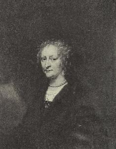 Portret van Sophie Hansdatter, vrouw van Hendrick Müller