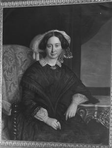 Portret van Aletta Catharina Alberda van Ekenstein (1814-1875)