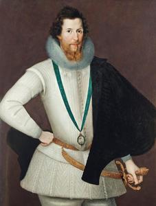 Portret van Robert Devereux, 2nd Earl of Essex (1565-1601)