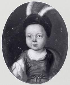 Portret van Tjeerd Cornelis van Gent (1708-1723)