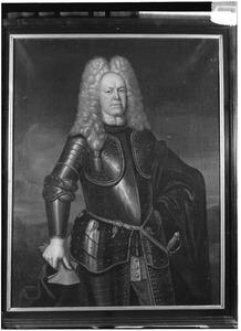 Portret van Gijsbertus Arnoldus Franciscus van der Heyden (1687-1731)