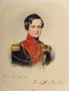 Portret van Maurits von Nassau-Weilburg (1820-1850)
