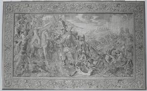 Koning Porus voor Alexander de Grote