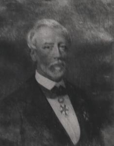Portret van Samuel Willem Ruyssenaers (1815-1877)