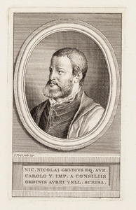 Portret van Nicolaus Grudius (1504-1570)