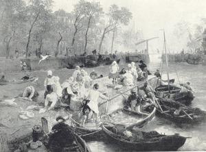 Vismarkt in Amsterdam