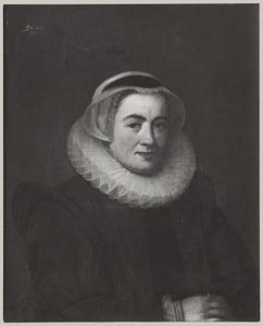 Portret van Lucretia Pellicorne (1550-1635)