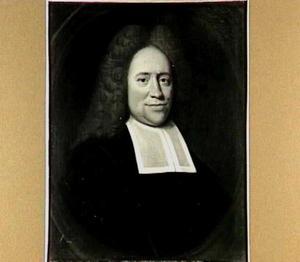 Portret van Hieronymus van Alphen (1665-1742), hoogleeraar Godgeleerdheid in Utrecht 1715-1742