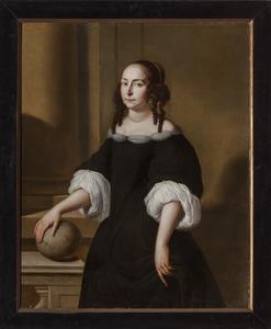 Portret van Naleken Kelffken (1632-?)