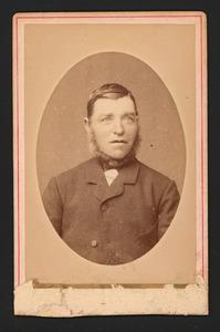 Portret van Pieter de Geus (1835-1908)