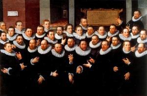 Het vierde Rot Haakbusschutters te Delft