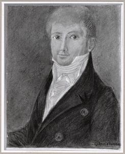 Portret van Gidion Anthonie Balthazar d' Aumerie (1791-1854)