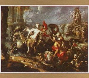 Neptunus, Amphitrite en hun gevolg in de branding