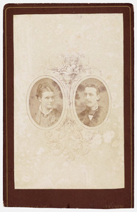 Portret van Theodora Anna Maria Roes (1857-1883) en Bonaventura Johannes Maria Ingen Housz (1855-1922)