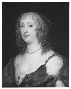 Portret van een vrouw, ten onrechte Anne Carr, Lady Russell, gravin van Bedford genoemd