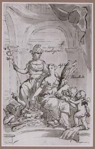 Allegorie:  Vrede brengt Welvaart
