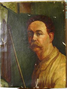 Portret van een kunstenaar, waarschijnlijk een zelfportret