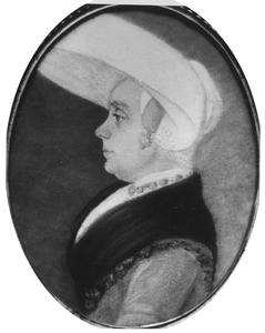 Portret van Eetje Ayolts Tonkes (1765-1799)