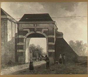 Gezicht in Dordrecht, de Vriesepoort