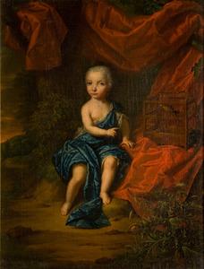 Portret van een kind, mogelijk Sicco Goslinga van Wassenaer Obdam (1731-1733)