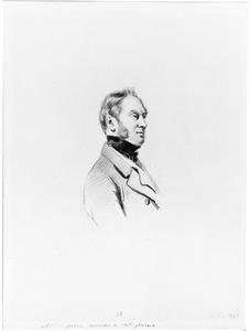 Portret van Daniel Theodore Gevers (1793-1877)