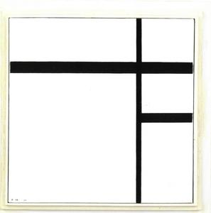 Composition en blanc et noir II