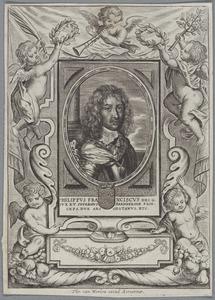 Portret van Philippe François de Ligne, hertog van Arenberg (1625-1674)
