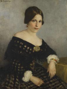Portret van Sophia Adriana de Bruijn (1816-1890)