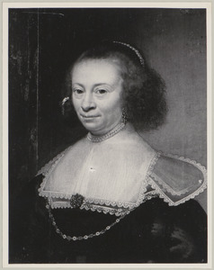 Portret van een vrouw, genaamd Geertruyd Huygens (1599-1680)