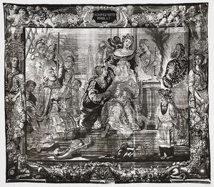 Jefta's dochter wordt opgeofferd