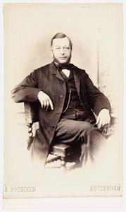 Portret van Adrien Milders (1819-1900)