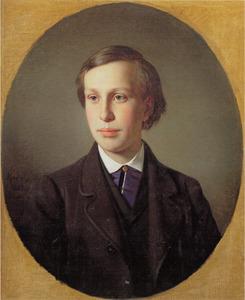 Portret van Nikolay Semyonovich Mosolov (1847-1914)