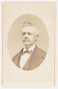 Portret van Cornelis Petrus Lenshoek (1827-1882)