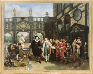 Afscheid van Van Dyck