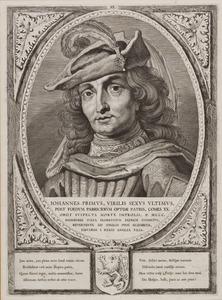 Portret van Jan I van Holland (1284-1299)