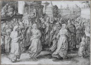 Koning Salomo brengt de Ark des Verbonds over naar de tempel van Jeruzalem (2 kronieken 5)