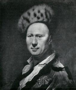 Portret van Conrad Friedrich Hurlebiusch (1691-1765)